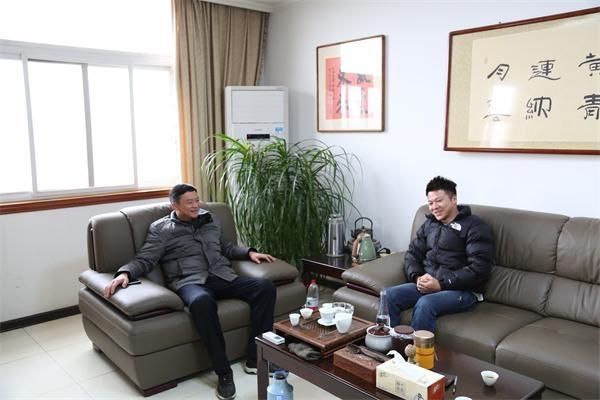 沈晔走访调研民营企业