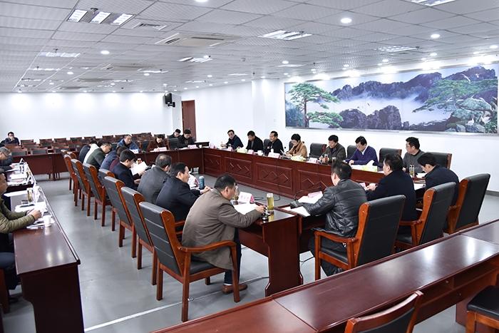 杨文萍主持召开十四届县委全面深化改革领导小组第十二次会议