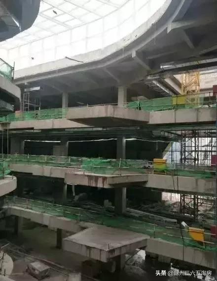 滁州万达预计今年10月开业!最新工程内部现状图曝光!